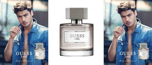 Guess presenta 'Guess 1981 for men', la edición para hombre de su fragancia femenina