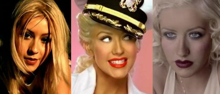 Maquíllate como Christina Aguilera para Halloween