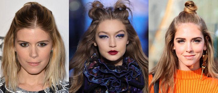 El semirecogido, un híbrido entre el cabello suelto y el recogido