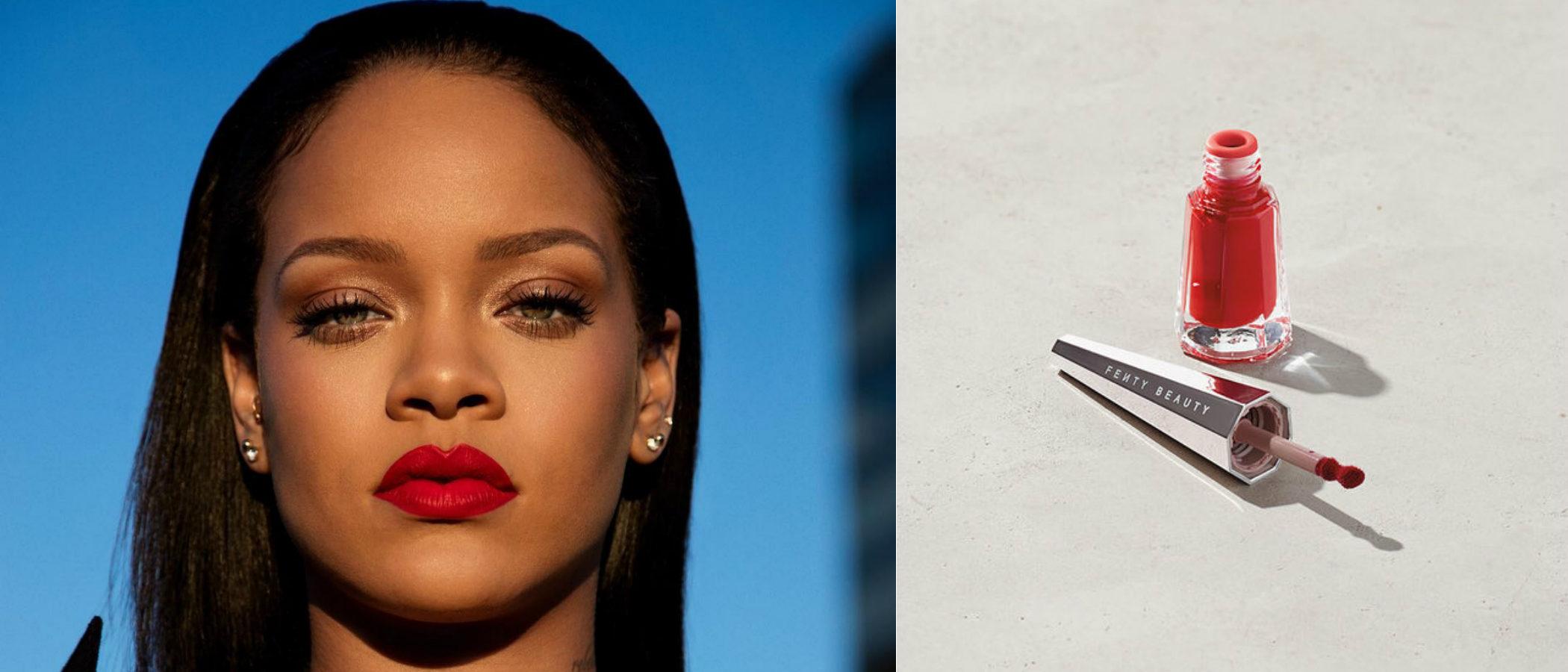 'Uncensored', el rojo universal con el que Fenty Beauty by Rihanna estrena su labial 'Stunna Lip Paint'