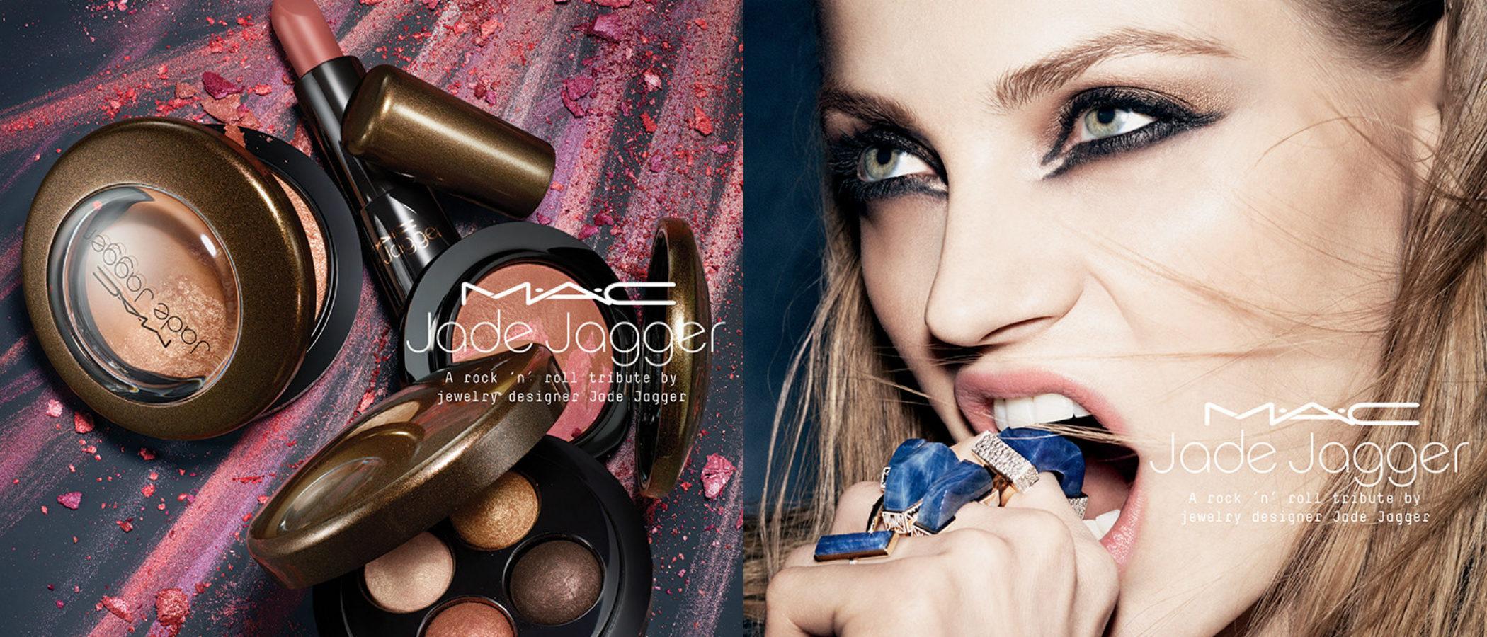 MAC presenta su colección de maquillaje más rockera en colaboración con Jade Jagger