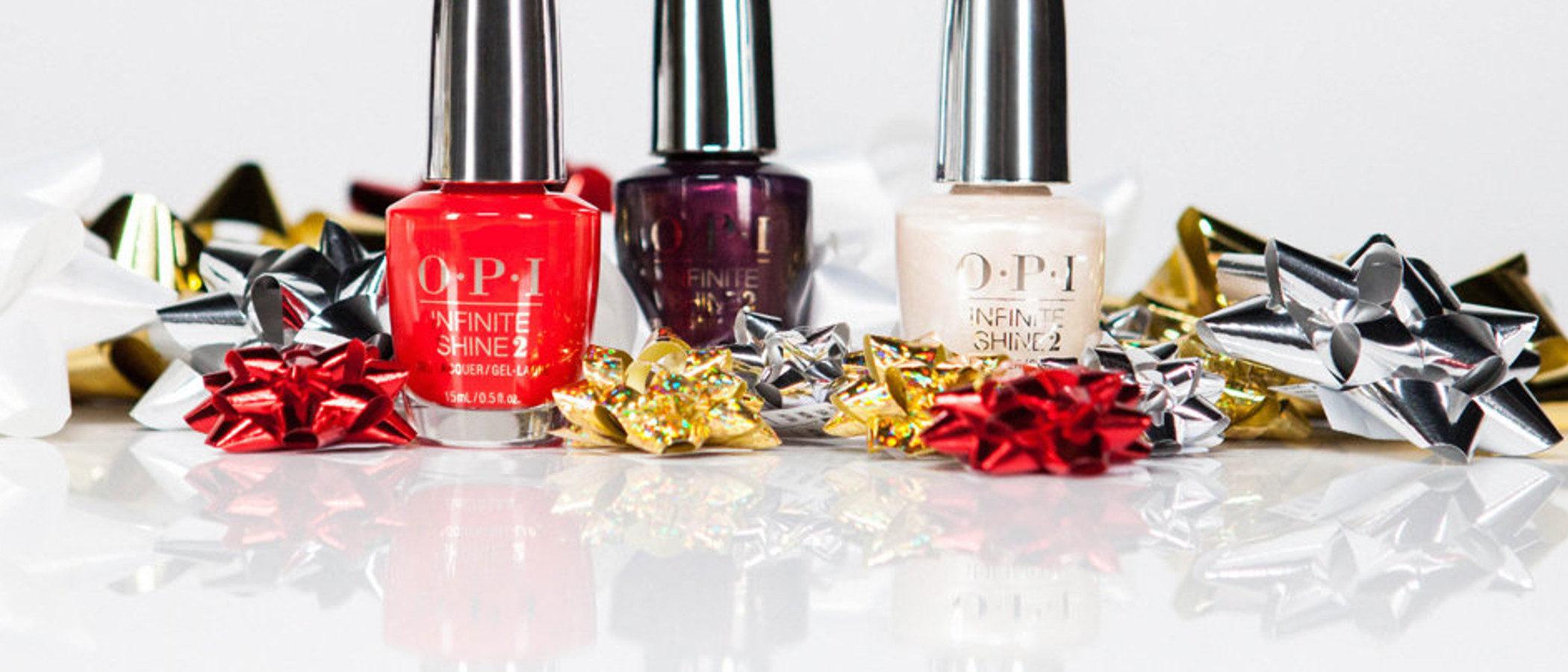 OPI presenta una nueva colección de pintauñas para celebrar la Navidad 2017