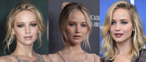 Maquíllate como Jennifer Lawrence