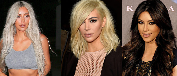 Los mejores peinados de Kim Kardashian