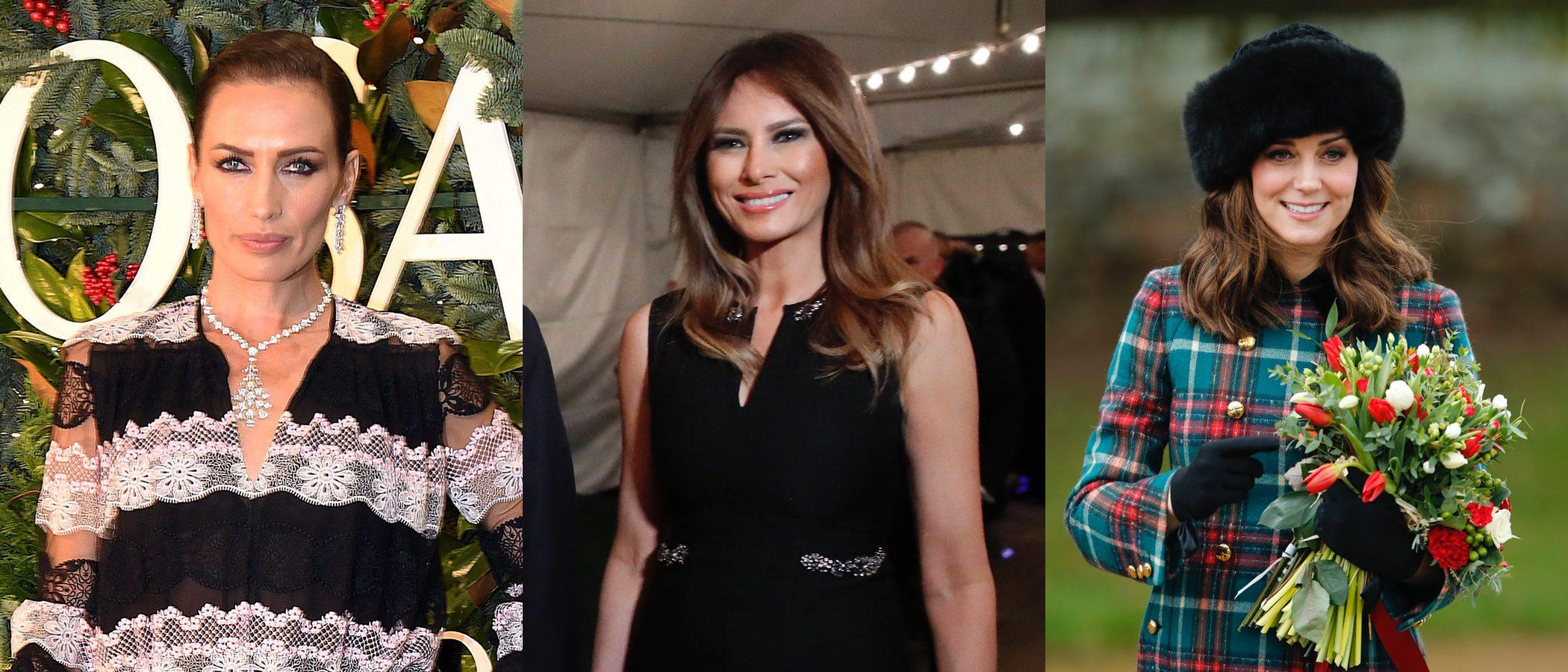 Melania Trump, la Duquesa de Cambridge y Nieves Álvarez cierran el año con estos mejores beauty looks