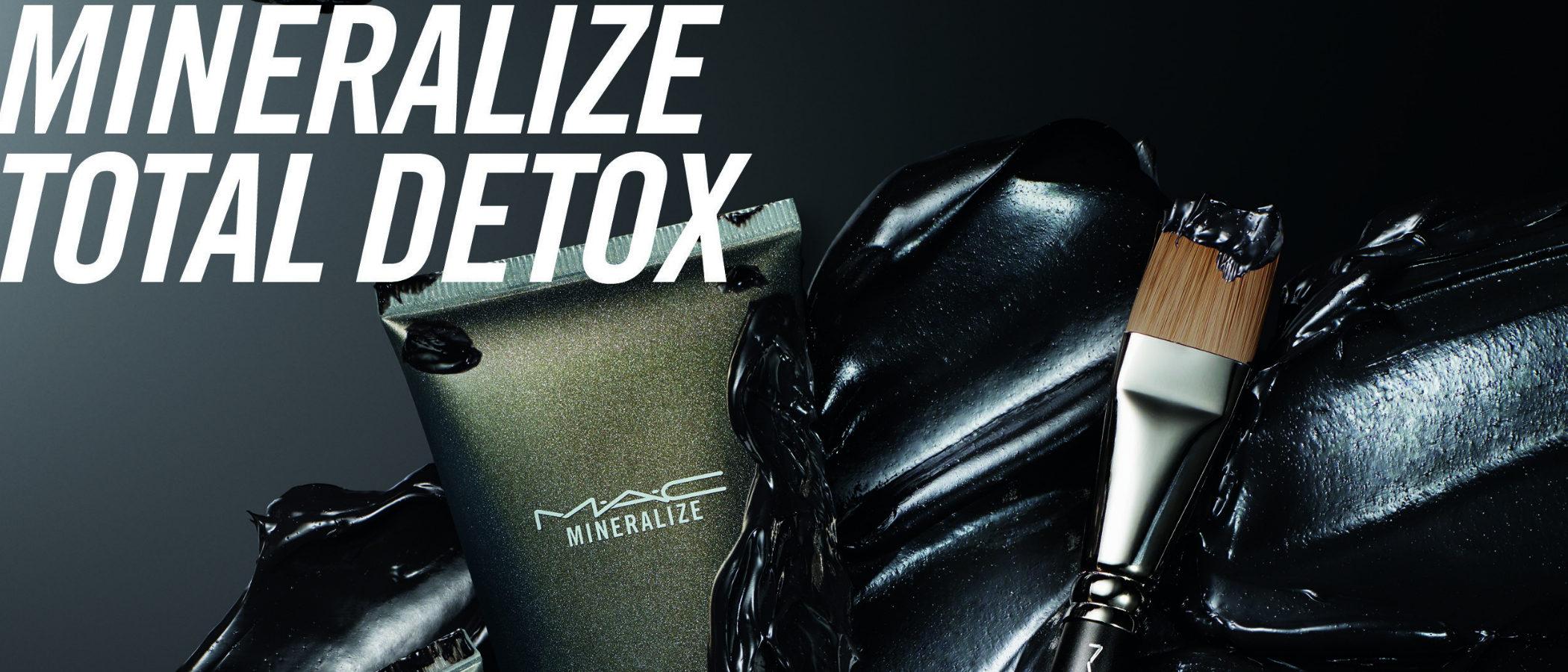 'Mineralize Total Detox', la línea de cuidado facial de MAC que cuenta con el carbón como ingrediente estrella