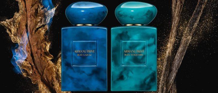 La India inspira a Armani Privé en sus dos nuevas fragancias: 'Bleu Lazuli' y 'Bleu Turquoise'