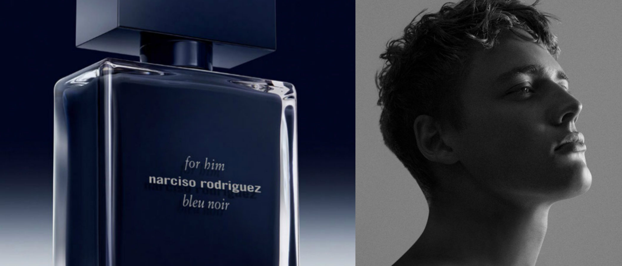 'Narciso Rodriguez For Him Bleu Noir', el nuevo perfume masculino de Narciso Rodriguez