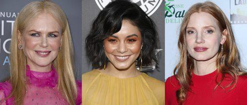 Vanessa Hudgens, Jessica Chastain y Nicole Kidman lucen los peores beauty looks de la semana