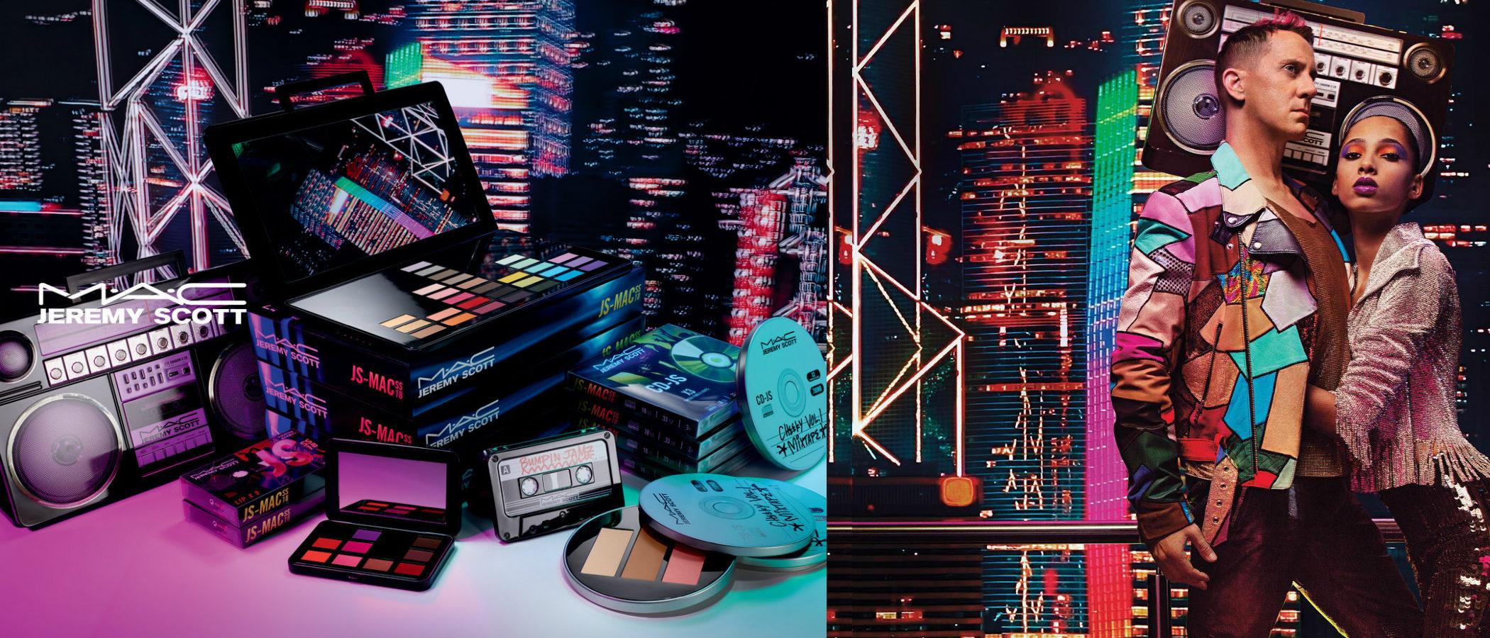 MAC y Jeremy Scott se unen para lanzar la colección de maquillaje más musical y noventera de la temporada