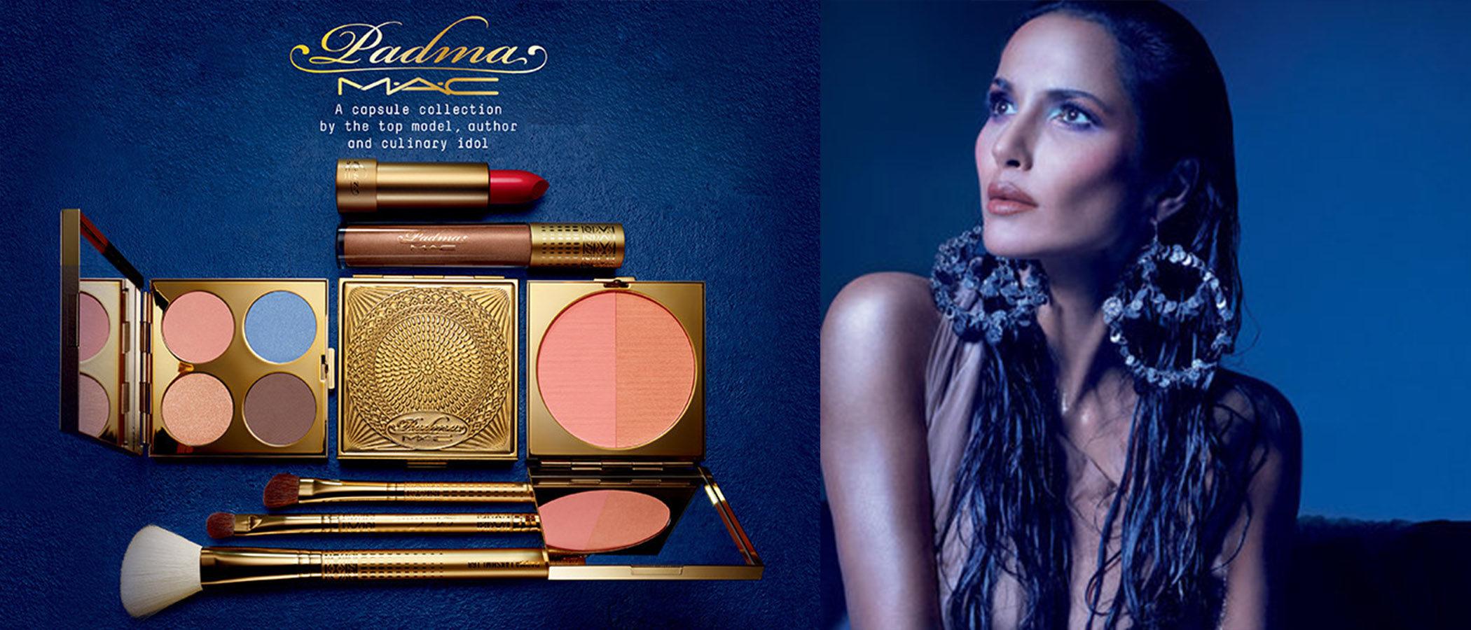 Padma Lakshmi lanza su propia colección de maquillaje con MAC