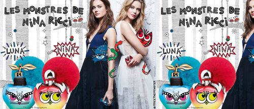 'Les Monstres', las dos nuevas y originales ediciones limitadas de 'Nina' y 'Luna' de Nina Ricci