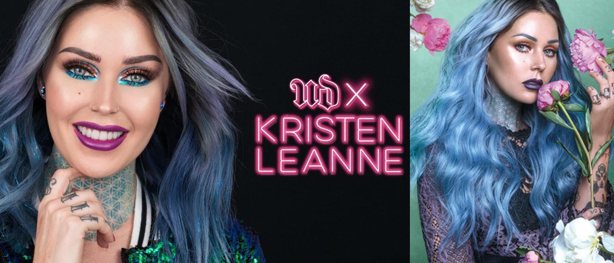Urban Decay presenta su colección de maquillaje en colaboración con Kristen Leanne