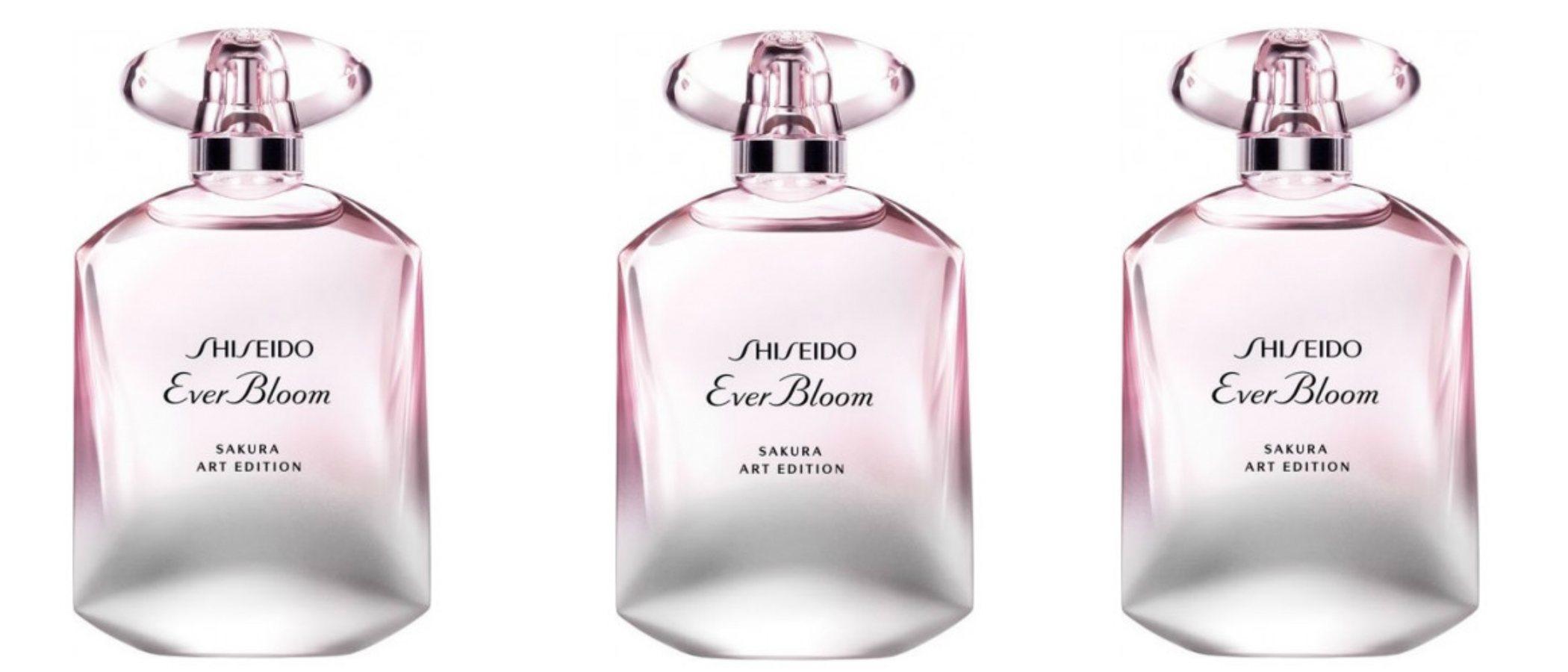 'Ever Bloom Sakura Art Edition' el perfume más primaveral de Shiseido