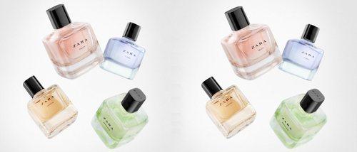 Zara presenta su colección de fragancias 'Aqua Collection' para esta primavera 2018