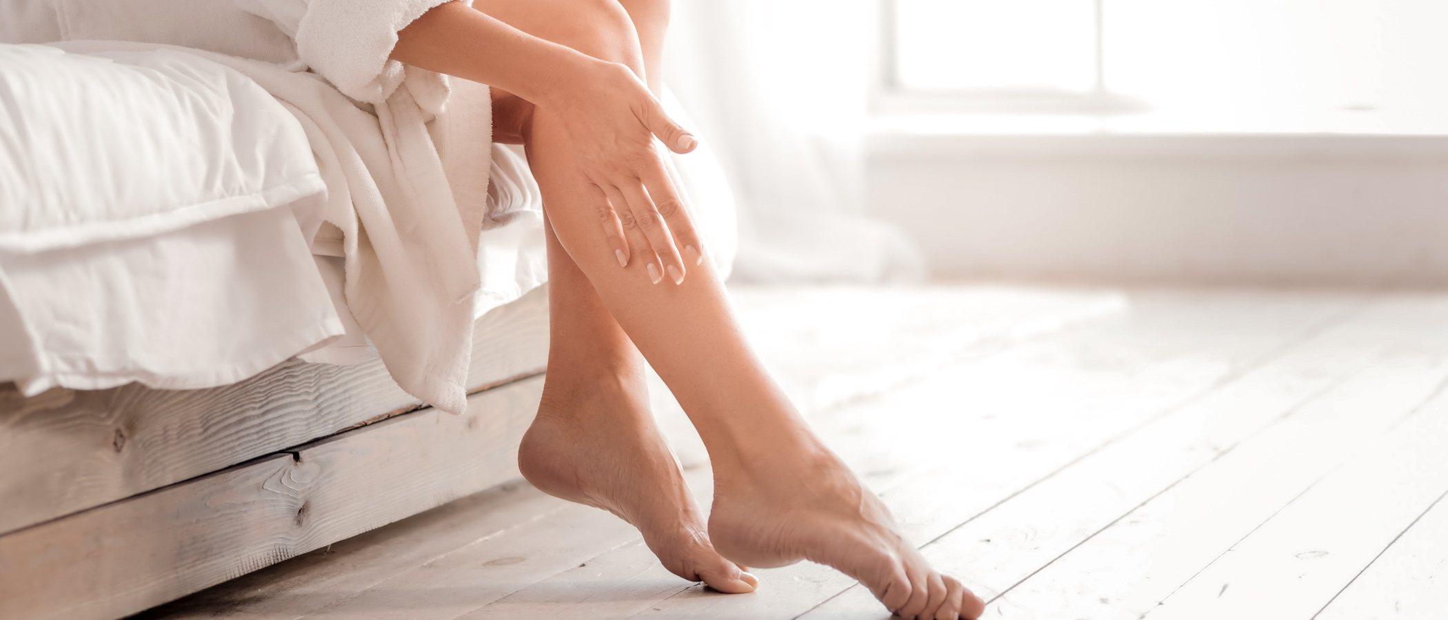 Maquillaje de piernas para ocultar imperfecciones