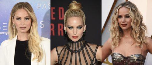 Jennifer Lawrence y sus mejores peinados