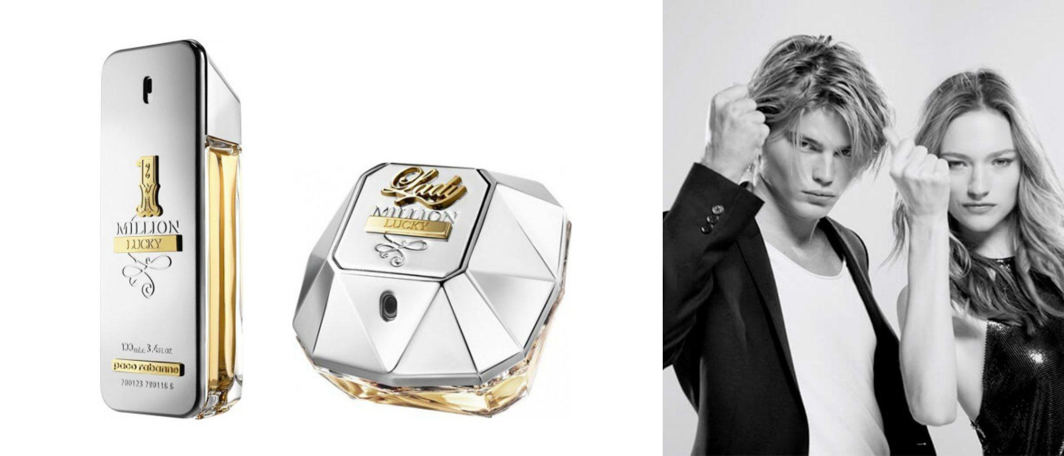 '1 Million Lucky' y 'Lady Million Lucky', la reedición de los emblemáticos perfumes de Paco Rabanne