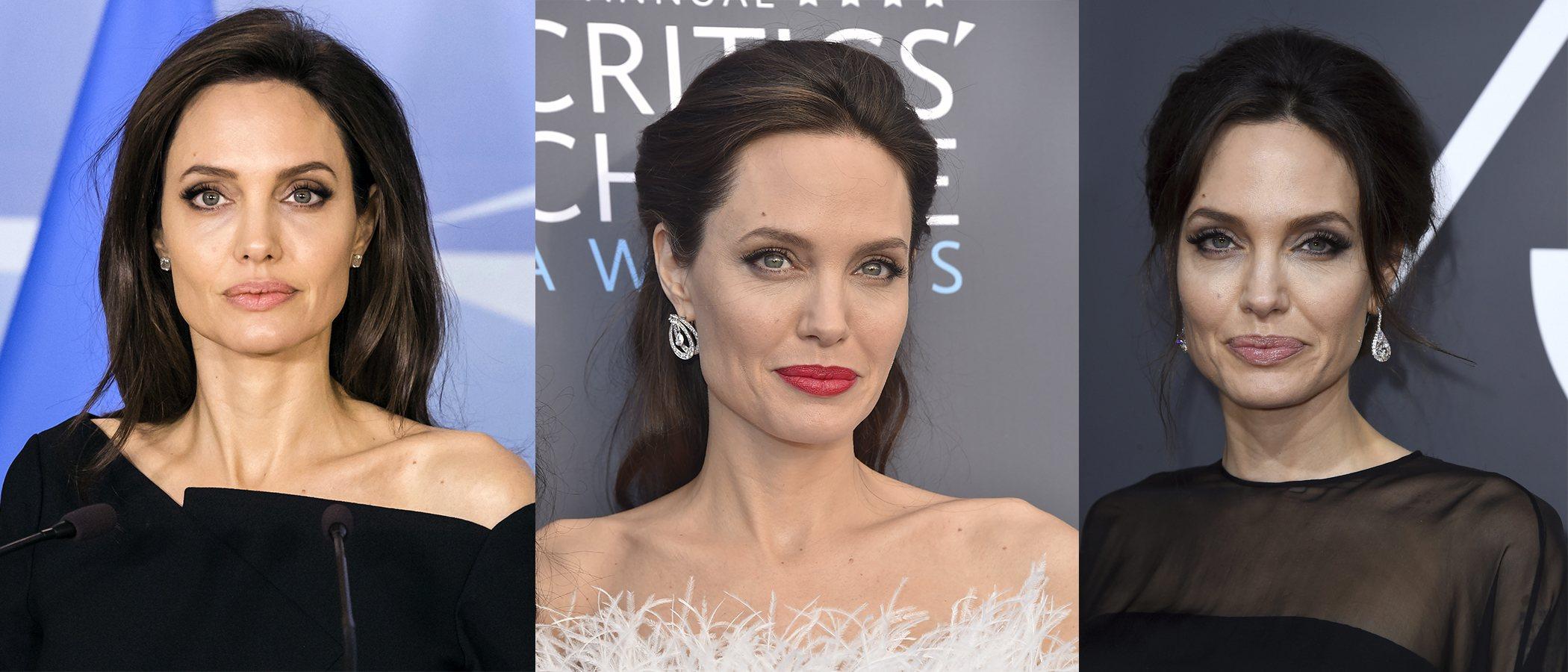 Los mejores peinados de Angelina Jolie