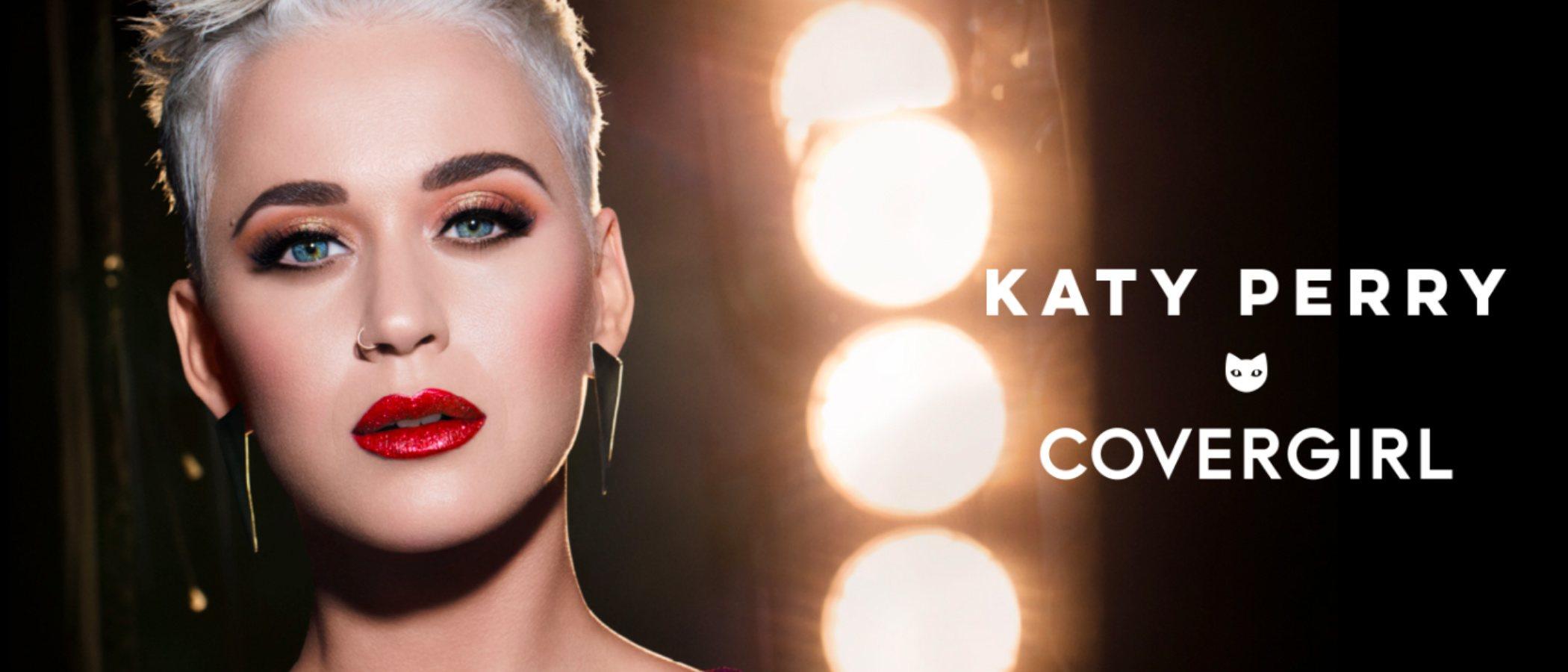 Katy Perry y Covergirl amplían la colección 'Katy Kat' con una felina paleta de sombras de ojos