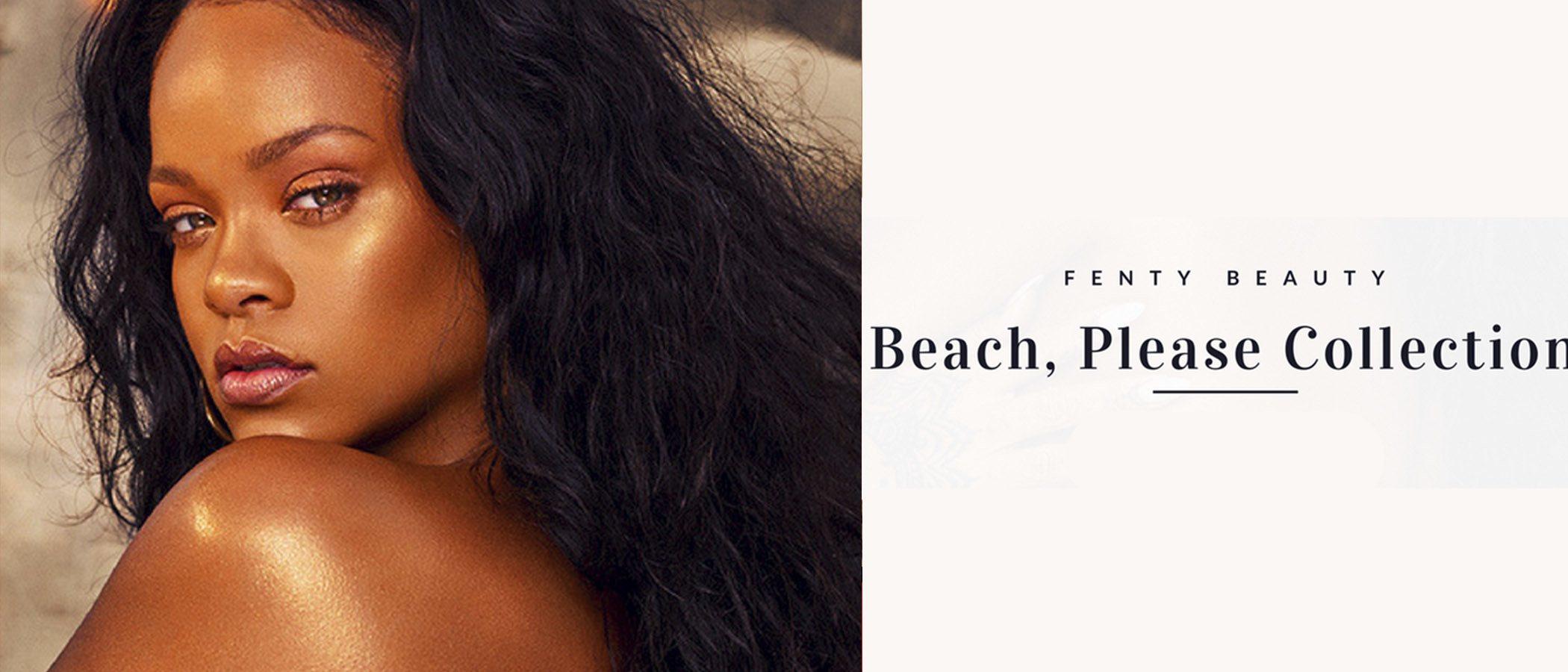 Rihanna sorprende a todos lanzando una línea de iluminadores corporales para Fenty Beauty