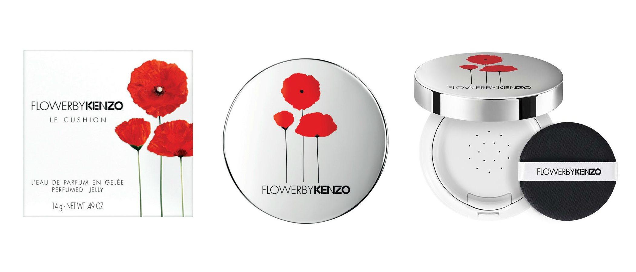 Kenzo presenta 'Flower by Kenzo Le Cushion', la versión en gel de su emblemático perfume