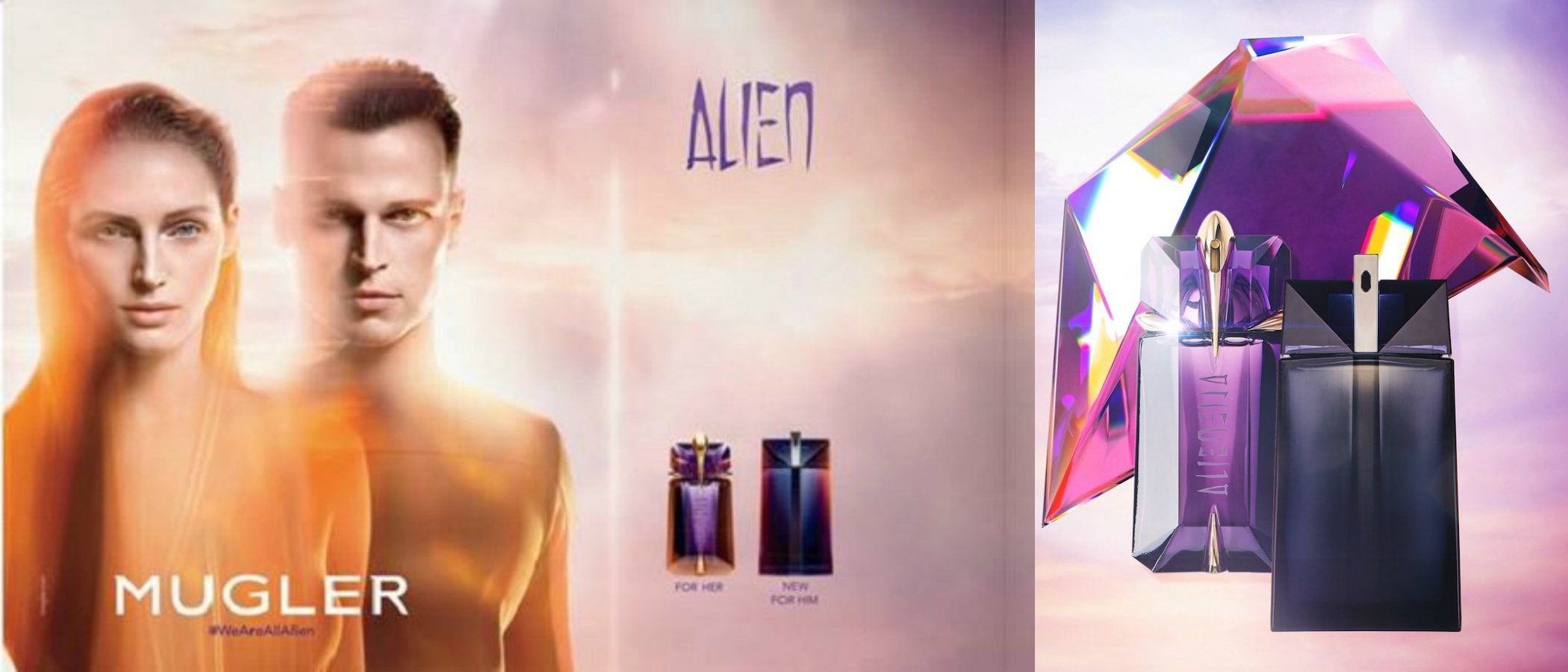 'Alien Man', la esperada versión masculina del icónico perfume de Thierry Mugler