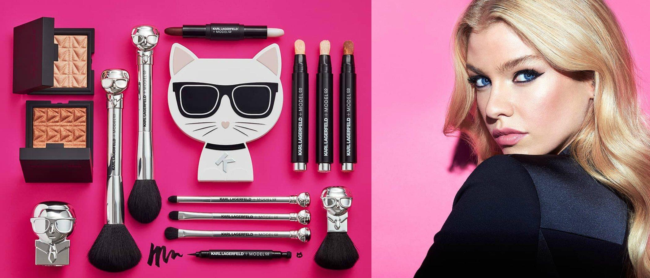Karl Lagerfeld lanza una colección de maquillaje en colaboración con ModelCo