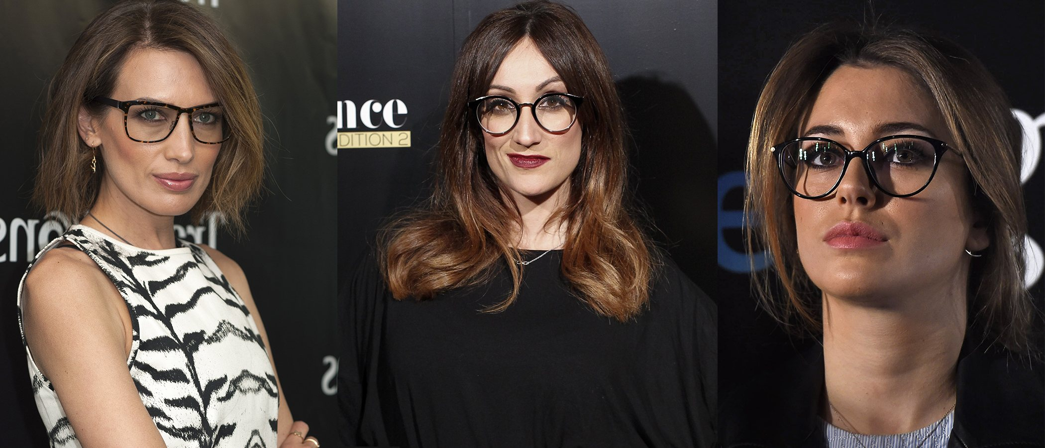 Los peinados de las famosas con gafas - Bekia Belleza