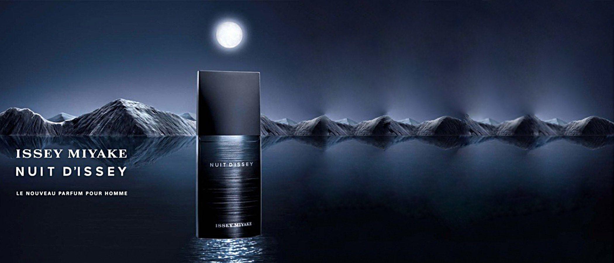 Issey Miyake traslada la atracción de la noche a su intenso y masculino perfume 'Nuit D'Issey Noir Argent'