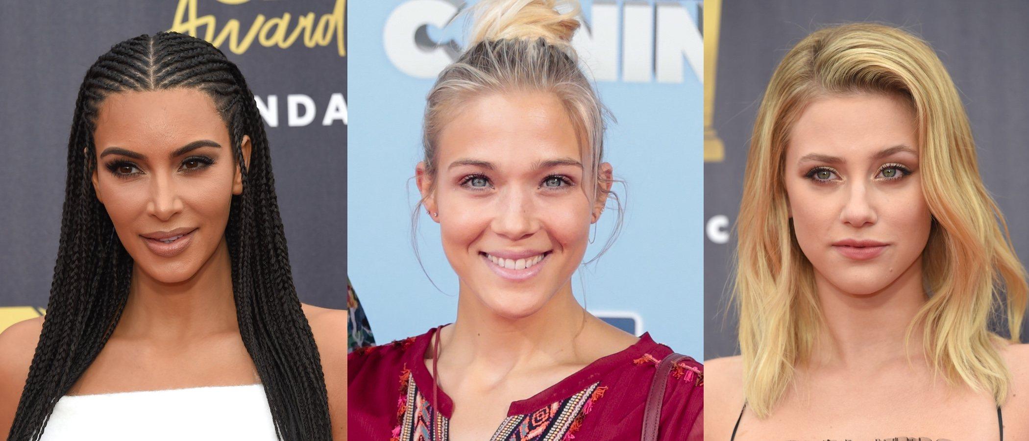 Lili Reinhart, Kim Kardashian y Patricia Montero entre los mejores beauty looks de la semana