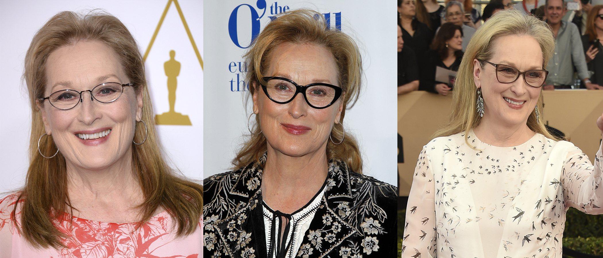 Los mejores peinados de Meryl Streep