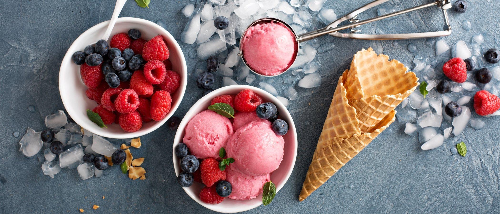 Los mejores helados para no coger kilos en verano