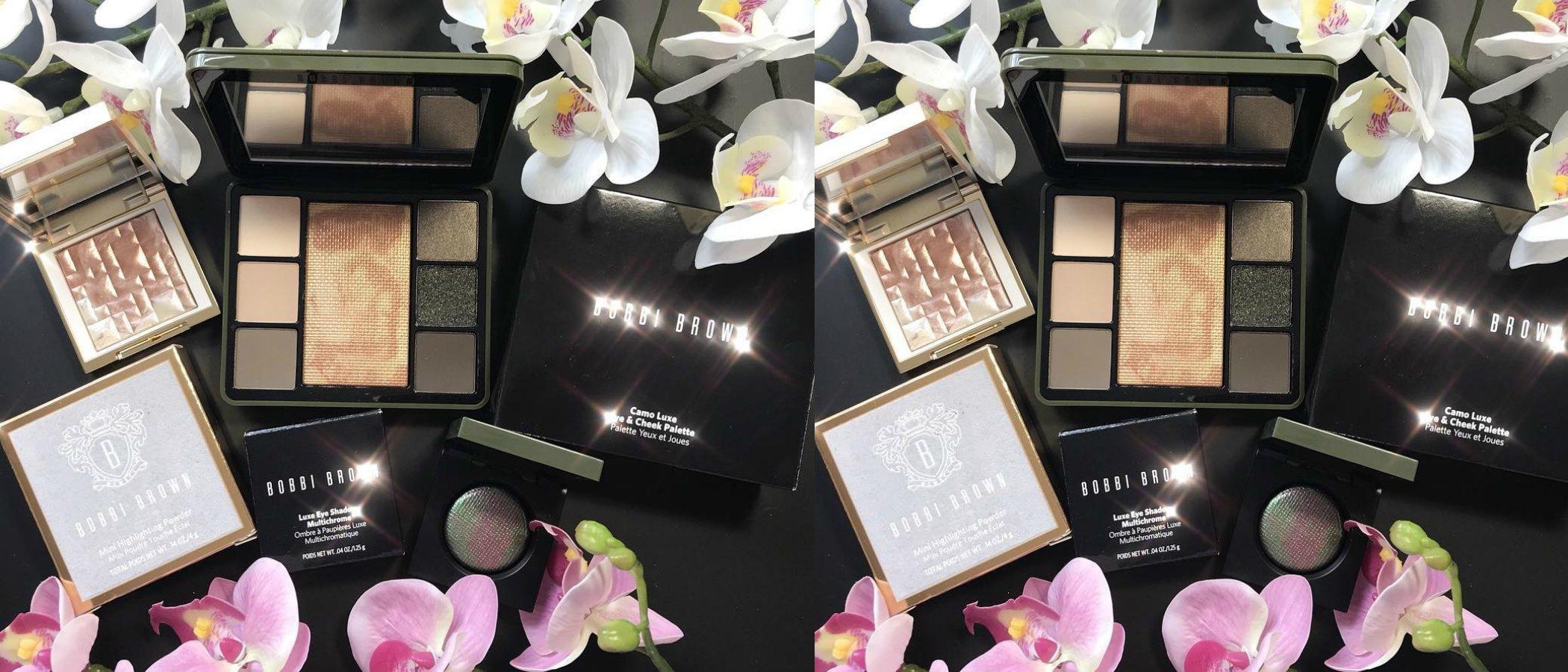 'Camo Luxe', la colección de maquillaje de Bobbi Brown para este otoño 2018