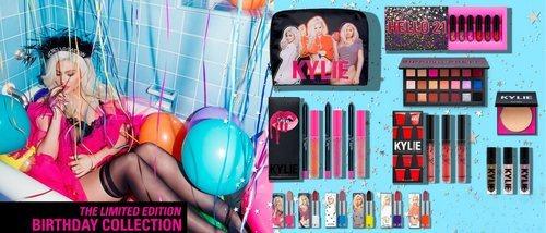 Kylie Jenner presenta 'Birthday Collection', la edición limitada de maquillaje por su 21 cumpleaños