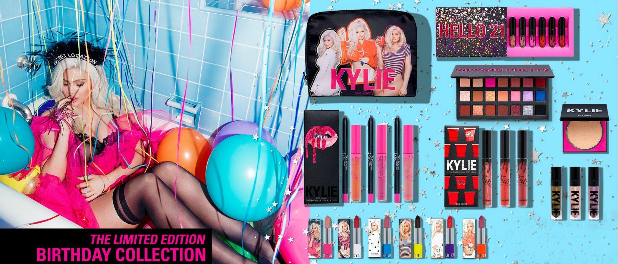 Kylie Jenner presenta su nueva colección de maquillaje y