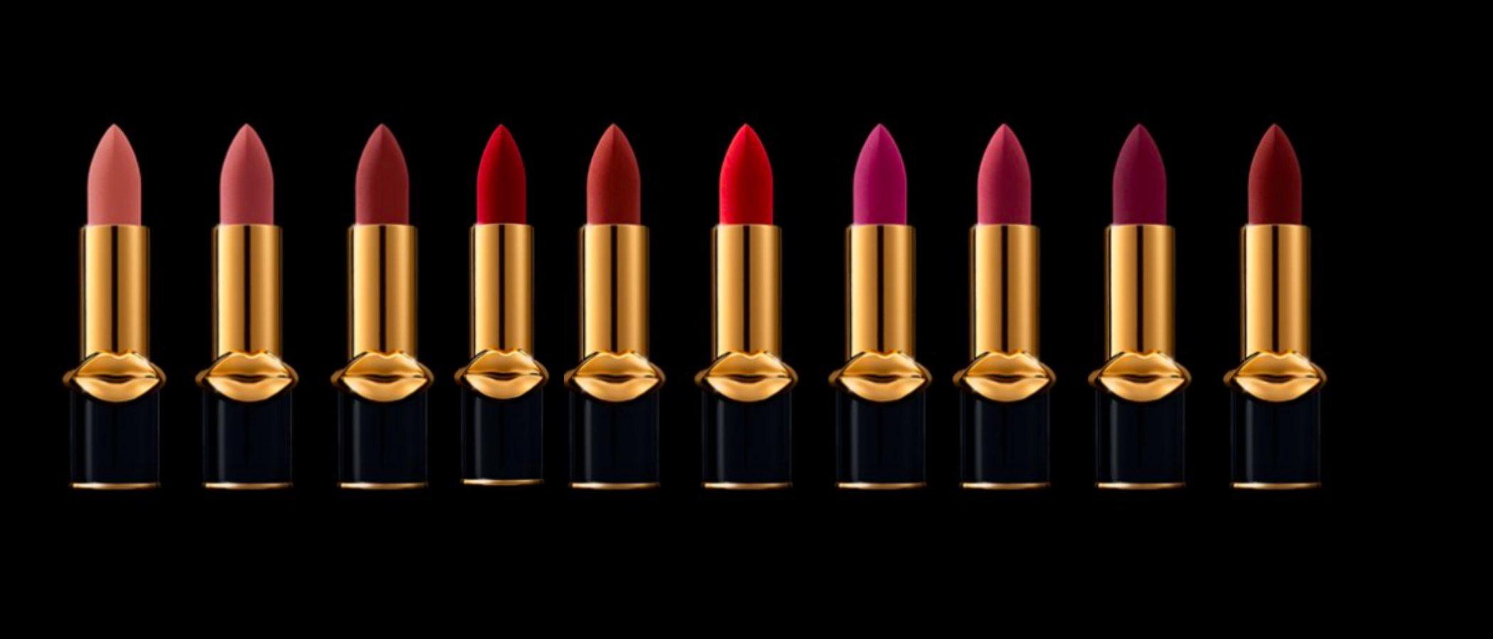 Pat McGrath Labs estrena 10 nuevos tonos de la barra de labios 'MatteTrance Lipstick'