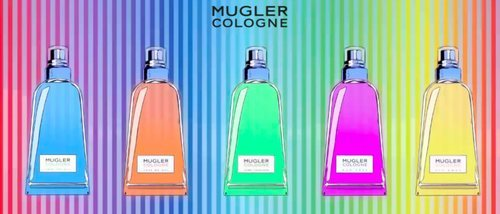 Mugler lanza 'The Rainbow', una colorida colección de cinco fragancias unisex