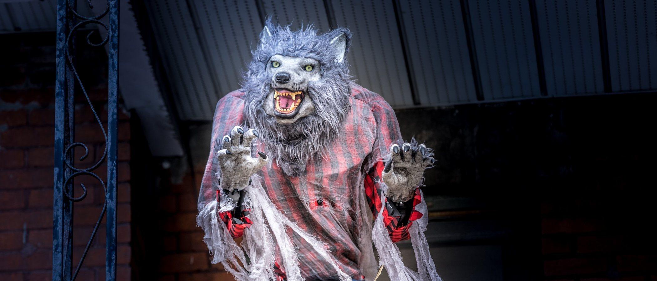 Maquillaje de hombre lobo para Halloween
