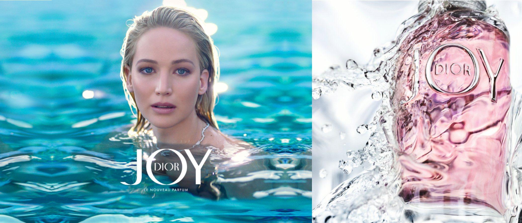 Jennifer Lawrence presenta 'Joy by Dior', el nuevo perfume para mujer de la casa francesa