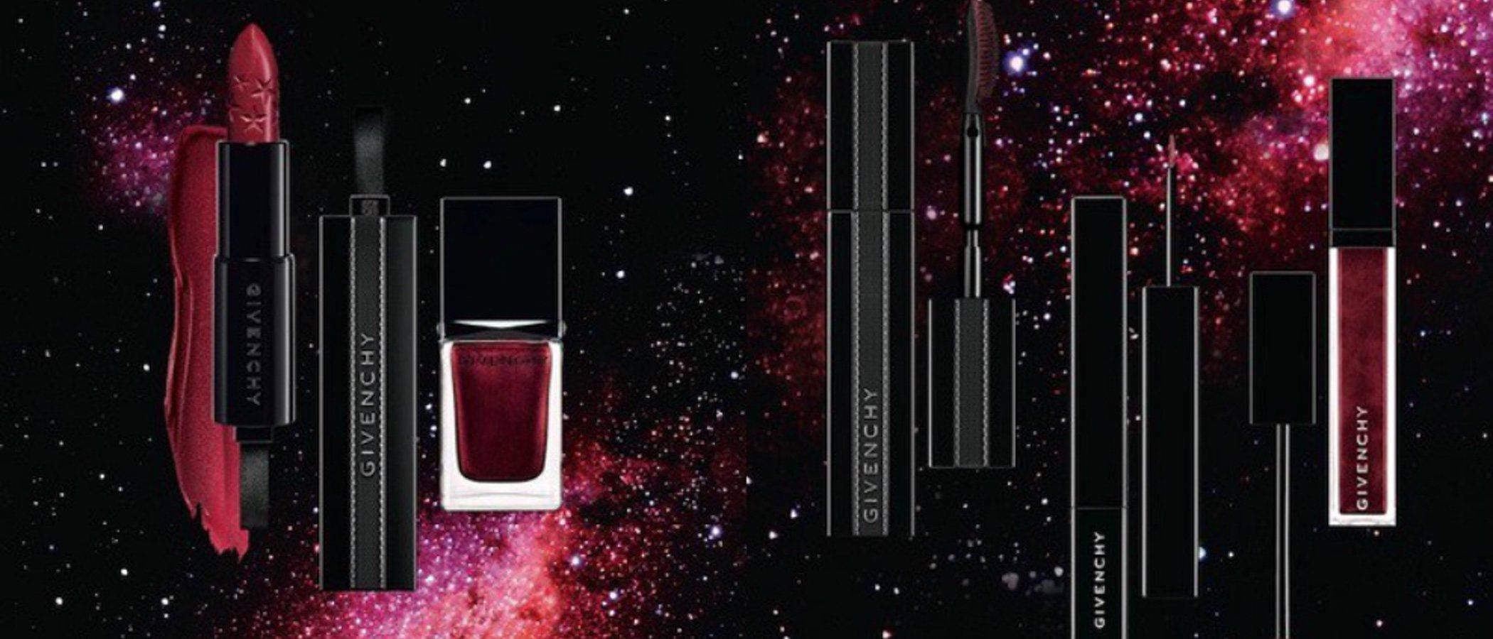 'Midnight Skies', la colección de maquillaje de Givenchy con el color rojo como protagonista