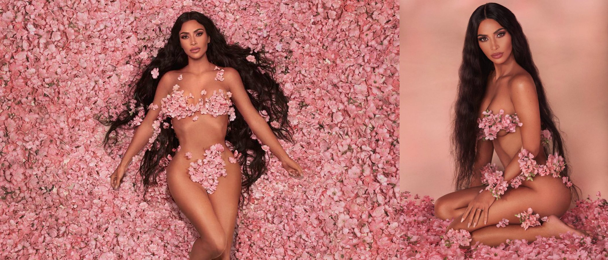 Kim Kardashian presenta 'Classic Blossom', la nueva colección de maquillaje de KKW Beauty