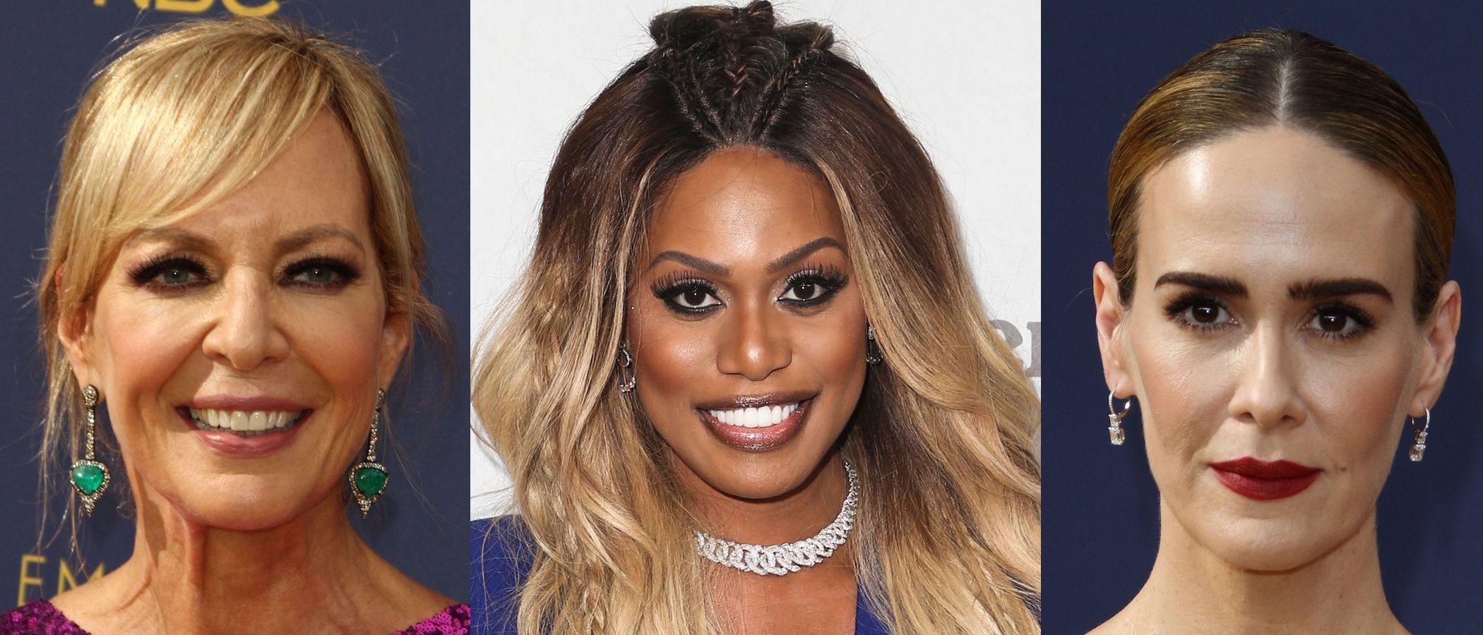 Laverne Cox, Sarah Paulson y Allison Janney lucen los peores beauty looks de la semana