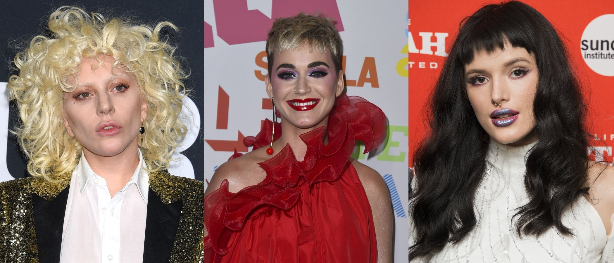 Maquillajes de celebrities que parecen un look de Halloween