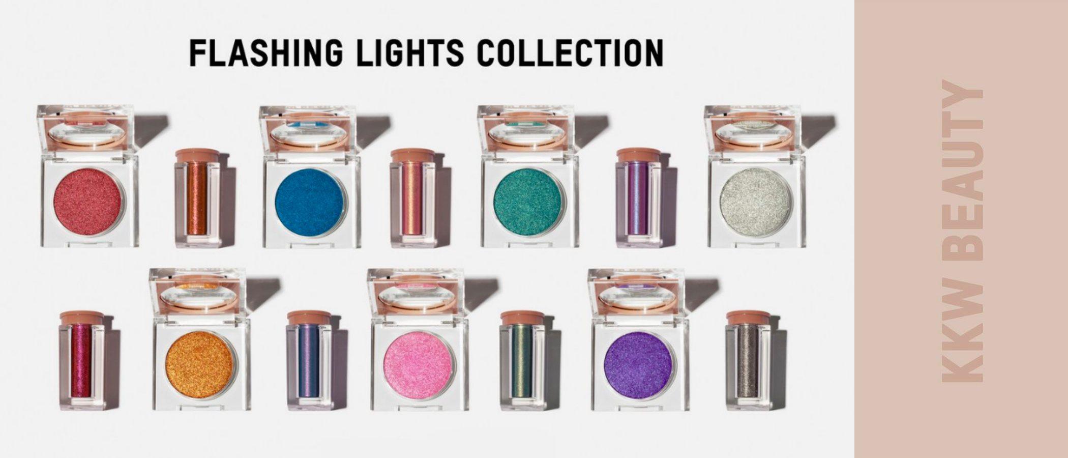 'Flashing Lights', la colección de KKW Beauty por el 38 cumpleaños de Kim Kardashian