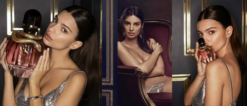 Emily Ratajkowski presenta 'Pure XS For Her', la nueva fragancia femenina de Paco Rabanne