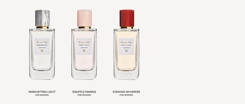 'Manhattan Light', 'Souffle Marais' y 'Evening Whispers', las nuevas fragancias femeninas de Massimo Dutti