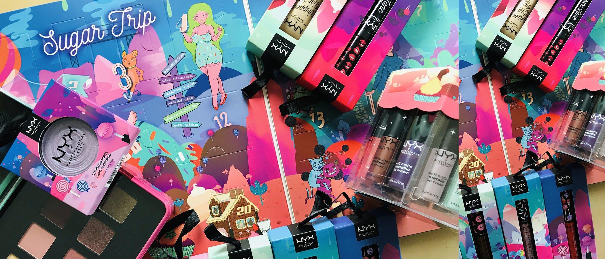 NYX lanza su nueva colección de Navidad más dulce con cinco líneas de maquillaje de lo más coloridas