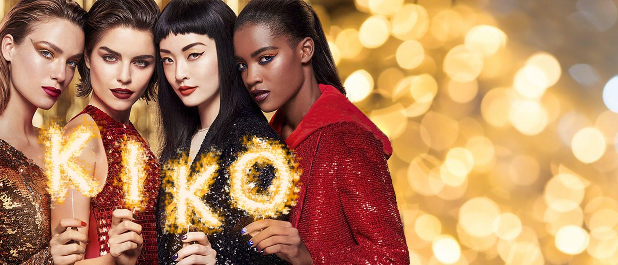 Kiko se prepara para la campaña de Navidad con su nueva colección de maquillaje 'Sparkling Holiday'