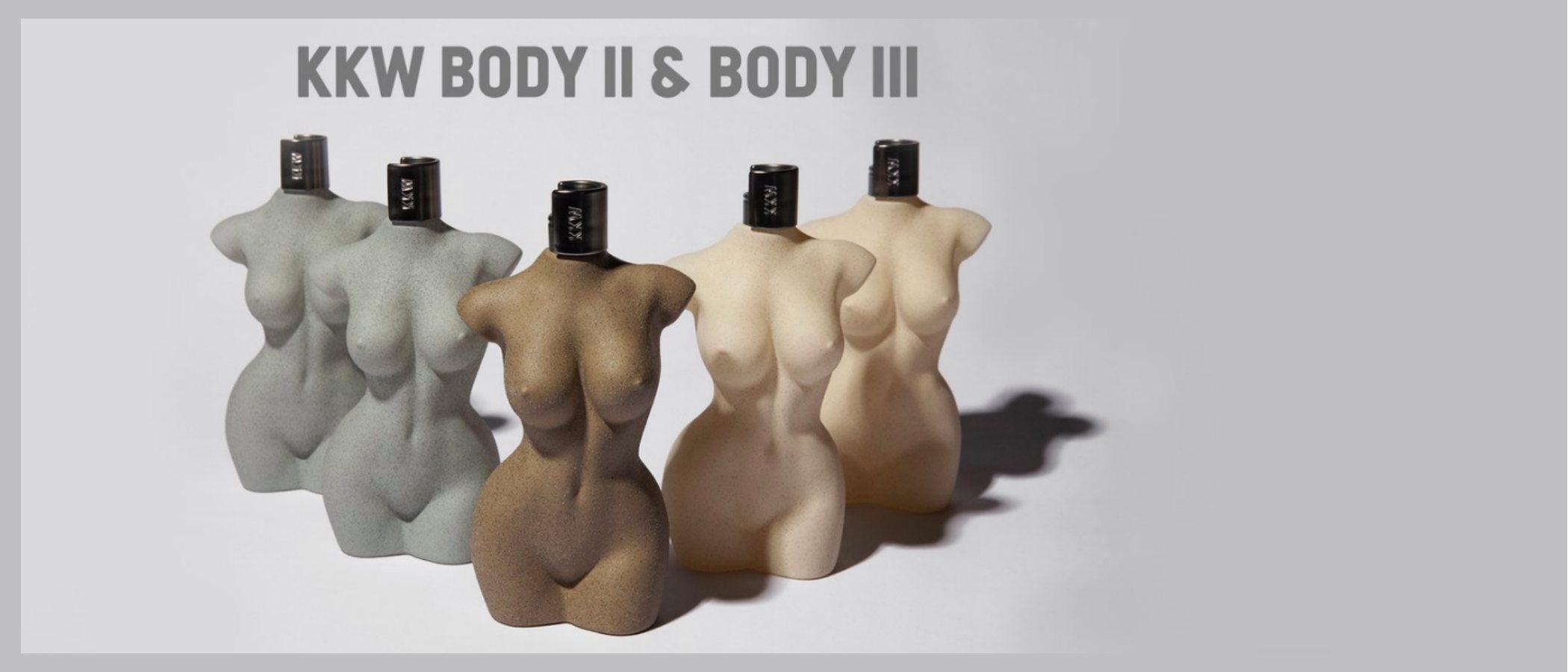 Kim Kardashiam lanza 'KKW Body II' y 'KKW Body III', los nuevos perfumes con su tronco desnudo de KKW Fragrance